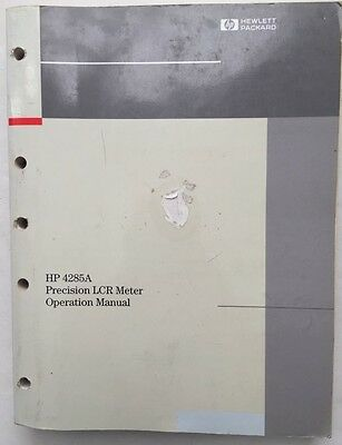 hp 4332a lcr meter operating   service manual cad  16 84 picclick ca Fluke LCR Meter agilent 4284a lcr meter manual