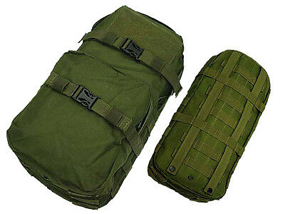 New Airsoft Molle Hiking Climbing Hydration Carrier Pack Water Backpack OD