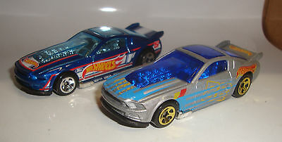 2013 Hot Wheels '13 FORD MUSTANG GT Lot of 2