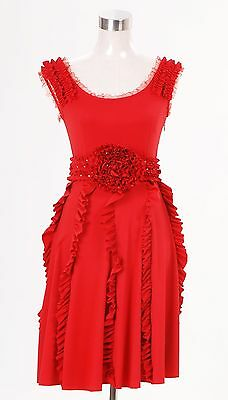 Harry Potter and the Deathly Hallows Hermione Granger Red Dress NEW Tailored