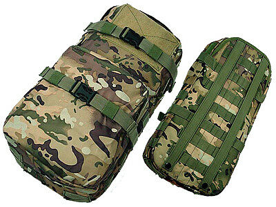 New Airsoft Molle Hiking Climbing Hydration Carrier Pack Water Backpack CP