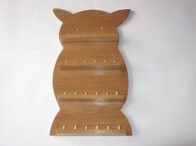24pc Owl Wooden Thimble Display Rack ( Pine ) ( huge range - see description )