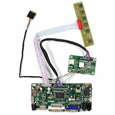 HDMI DVI VGA Audio LCD driver board for 11.6inch 1920x1080 IPS LCD EDP interface