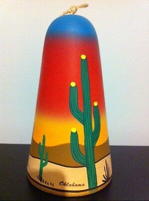 """BELL STAMPED """"MADE IN NEW MEXICO"""" ESTATE FIND..VERY BRIGHT COLORS, QUITE UNIQUE!"""