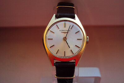 Vintage Longines Ladies Watch Gold Plated 17 Jewels MINT Women 1970's