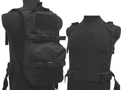 New Airsoft Molle Hiking Climbing Hydration Carrier Backpack Water Pack BK
