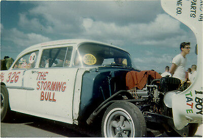 """""""Storming Bull"""" 1955 Chevy Both Early and Late Version 1/25th model car decal"""