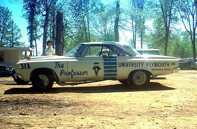 Bill Shirey 1964 and 1965 Plymouth Super Stocker and AFX 1/25th model car decal