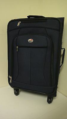 "American Tourister Luggage Spinner, Navy - 21""      I9291D"