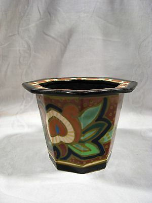 Late 19th Century or Early 20th Century Octagonal Jardiniere, Pot