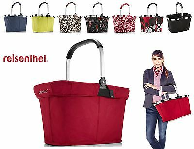 Foldable Shopping Basket Carry Bag in Various Designs and 2 Sizes by Reisenthel