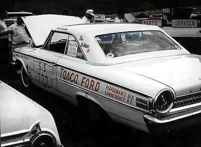 Tasca Super Stock 63 Ford 1/25th model car decal