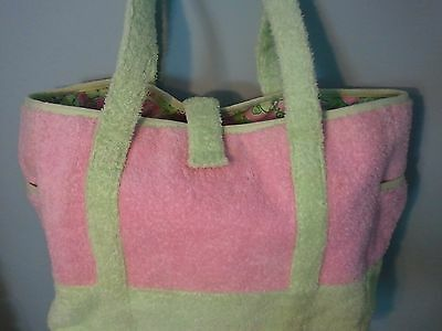 RARE Lilly Pulitzer diaper bag BABY BAG PINK GREEN HARD TO FIND
