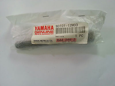 NOS New Old Stock Genuine YAMAHA 90101-12M03 90101-12M03-00 BOLT L-115mm