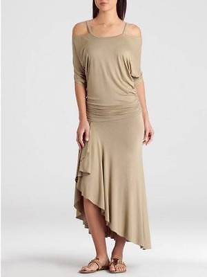 GUESS by Marciano Malina Solid Maxi Dress brown size XS