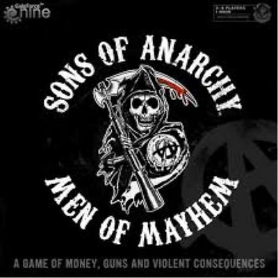 Sons of Anarchy: Men of Mayhem Board Game New & Factory Sealed!