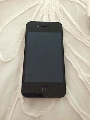 Unlocked Iphone 4 16GB In Black Perfect Condition