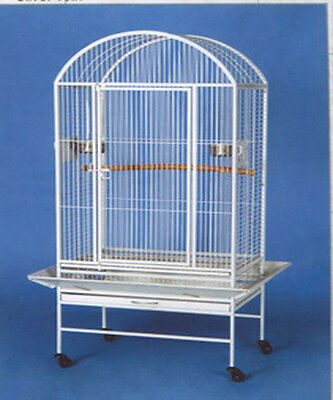 "Large Dome Top Bird Parrot Finch Macaw Cockatoo Macaw Cage 28""x20""x61""H-038"