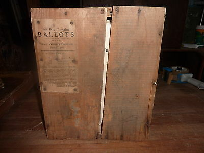 c1946 STATE of MAINE primary election ballots DEMOCRAT & REPUBLICAN Whitefield