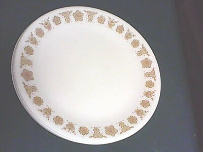 "CORELLE by CORNING BUTTERFLY GOLD  LUNCH  aprox 8 5""  LOT OF 4  W"
