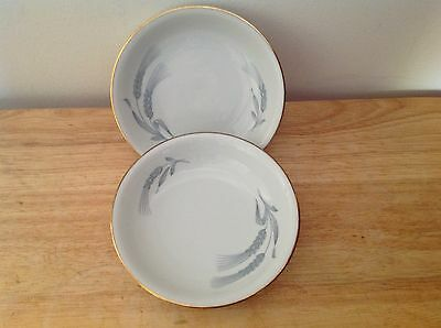 2x ROYAL BAYREUTH GERMANY WHEAT PATTERN BOWLS