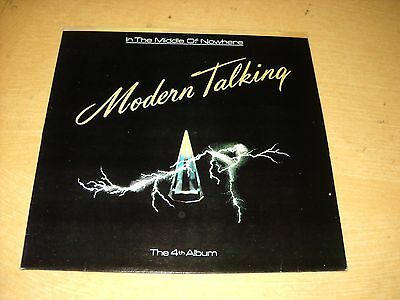 ♡KOREA LP/MODERN TALKING -4th In The Middle Of Nowhere
