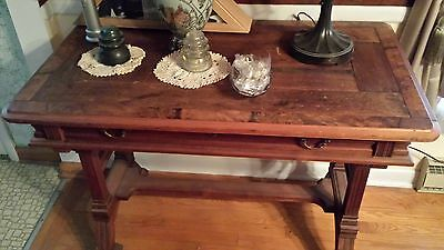 Antique Library Table/Desk