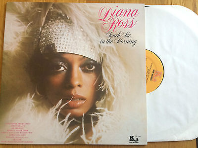 """Diana Ross - Touch Me In The Morning 12"""" LP Kory Records 1977 USA PRESS NM"""