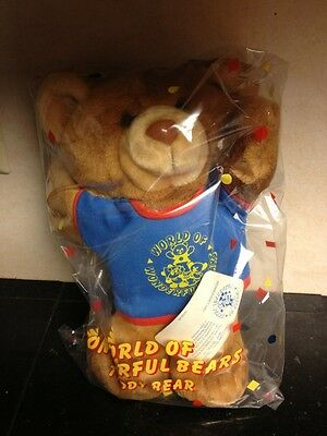 Avon World Of Wonderful Bears Teddy Bear With Membership Card MIP