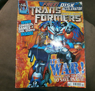 Transformers robots in disguise - Issue 18 - December 2008 - Hasbro