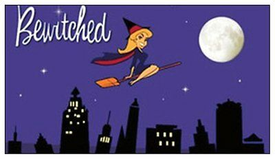 BEWITCHED fridge magnet - REDUCED TO CLEAR