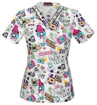 Hospital Critters Scrubs by Cherokee Style 6600C HCOS  Sizes S