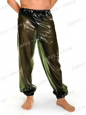 602 Latex Rubber Gummi loose Bloomers Pants Trousers customized catsuit New .4mm