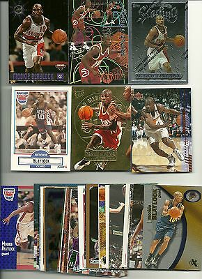 Mookie Blaylock 35 Card Lot All Different Atlanta Hawks New Jersey Golden State