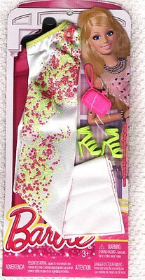 Life in the Dreamhouse Barbie Gown, purse,  shoes -  - Genuine Mattel Items