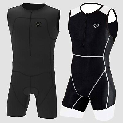 New Triathlon Suit Swimming Cycling Running Suit Top Quality Padding