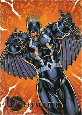 1996 Fleer Ultra Onslaught card #80 BLACK BOLT 96 x-men new avengers