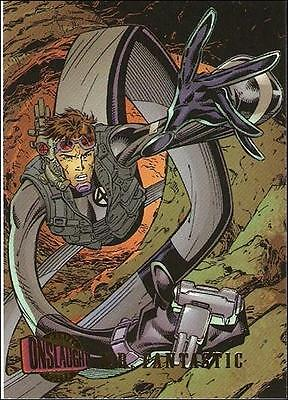 1996 Fleer Ultra Onslaught card #92 Mr Fantastic 96 x-men new avengers