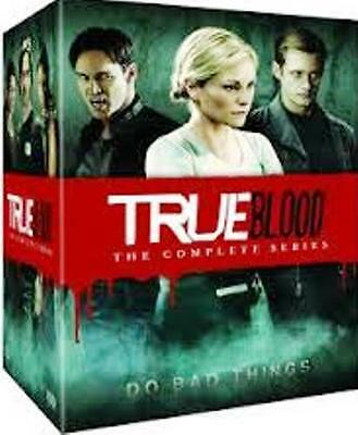True Blood: The Complete Series (DVD, 2014, 33-Disc Set)