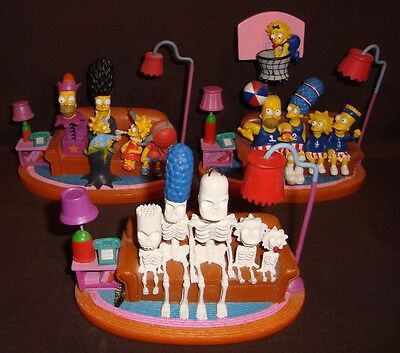 The Simpsons Hamilton Couch Gags Sculptures - Rare - Limited Edition - Lot 1/3