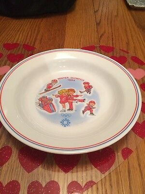Official 1984 campbells Winter Olympic soup bowl - Sarajevo
