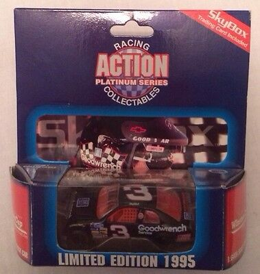 1995 Action Dale Earnhardt Sr. #3 GM Goowrench 1:64 Limited Edition