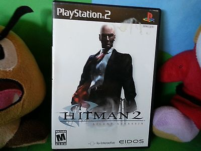Hitman 2: Silent Assassin (Sony PlayStation 2, 2003) Complete, Free Shipping