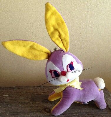 Vintage R Dakin & Co Dream Pets Easter Bunny Rabbit Toy Doll CUTE!