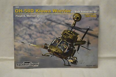 Squadron Signal OH-58D Kiowa Warrior, walk around No. 50, Color Series