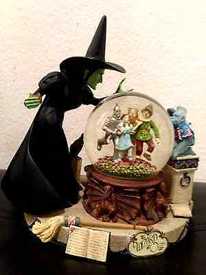 Wizard Of OZ Musical Snowglobe Wicked Witch & Crystal Ball