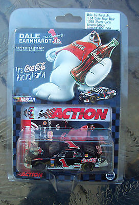 1998 DALE EARNHARDT JR  #1 COCA COLA 1/64 SCALE ACTION PLATINUM SERIES CAR NIP