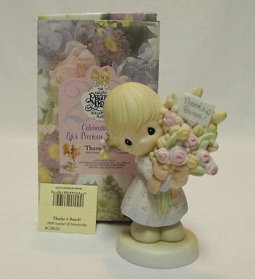 Precious Moments 2000 Figurine C0020 Thanks a Bunch