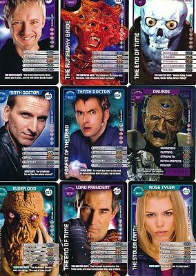 Doctor Who Monster Invasion TCG TV Cards 1 - 50 Select From List