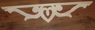 "Victorian Wood Gingerbread { 32"" x 7"" } Drop Pendant Bracket #37P-SM ~ by PLD"